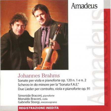 Sonate per viola e pianoforte op. 120 n. 1 e n. 2 [Audioregistrazione]