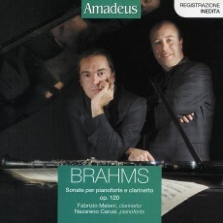 Sonate per pianoforte e clarinetto e op. 120 [Audioregistrazione]