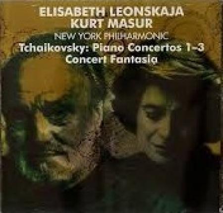 Piano Concertos 1-3 [Audioregistrazione]