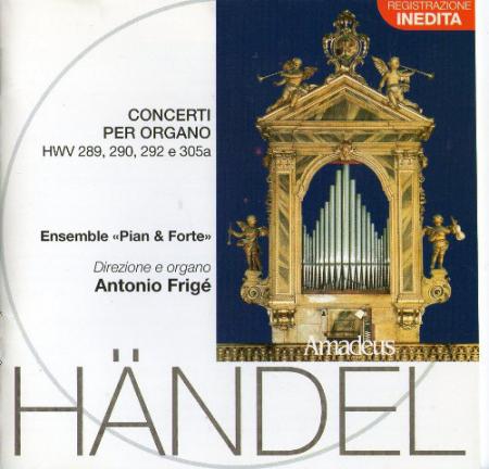 Concerti per organo [Audioregistrazione]
