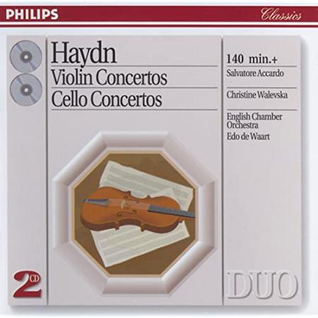 Violin Concertos [Audioregistrazione]