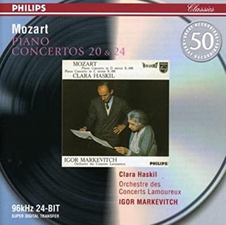 Piano Concertos 20 & 24 [Audioregistrazione]
