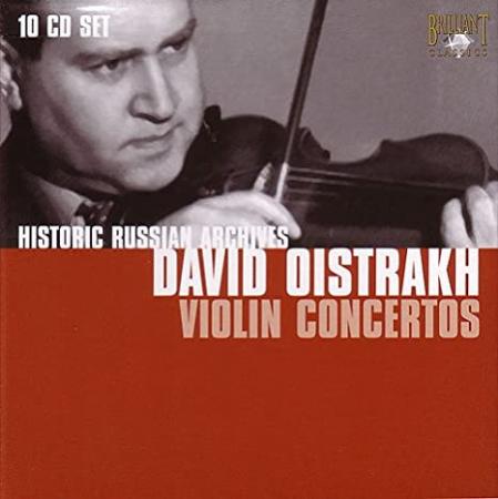 David Oistrakh violin concertos [Audioregistrazione]