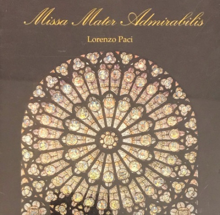 Missa Mater Admirabilis [Audioregistrazione]