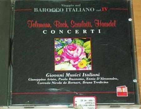 Telemann, Bach, Scarlatti e Haendel