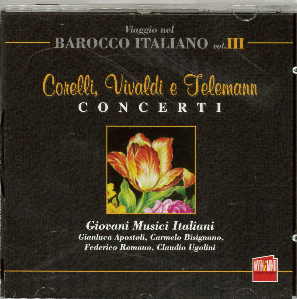 Corelli, Vivaldi e Telemann