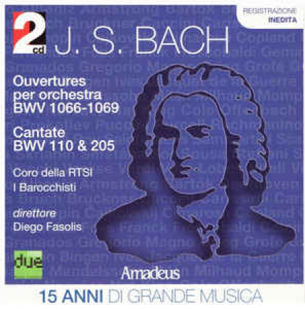 Ouvertures per orchestra BWV 1066-1069 [Audioregistrazione]