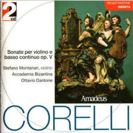 Sonate per violino e basso continuo op. 5 [Audioregistrazione]