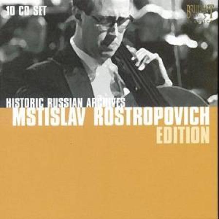 Mstislav Rostropovich edition [Audioregistrazione]
