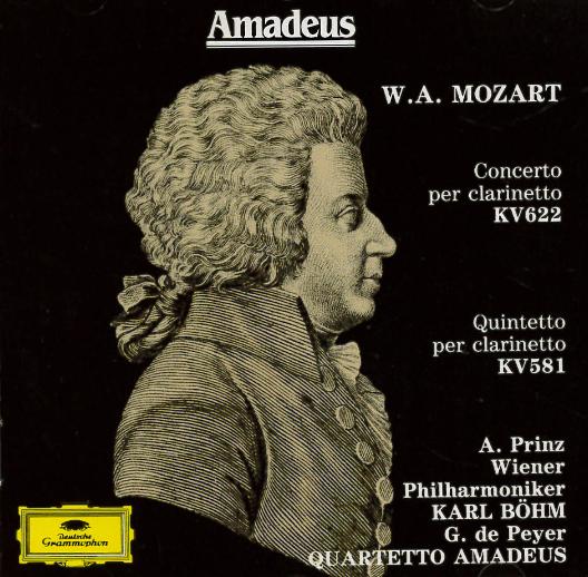Concerto per clarinetto e orchestra in la magg. KV 622