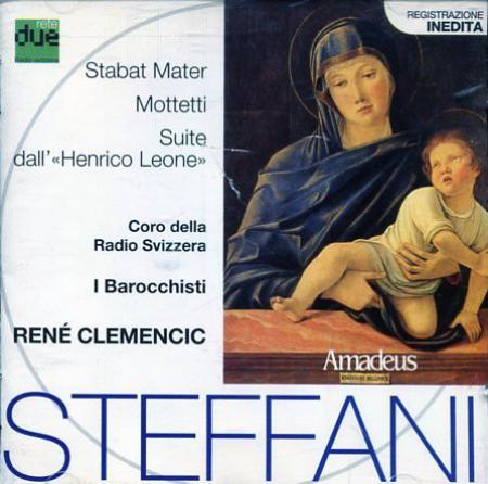 """Stabat Mater, Mottetti, Suite dall'""""Henrico Leone"""" [Audioregistrazione]"""