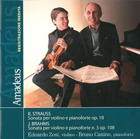 Sonata per violino e pianoforte op. 18 [Audioregistrazione]