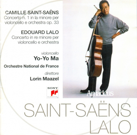 Concerto n. 1 in la minore per violoncello e orchestra op. 33 [Audioregistrazione]
