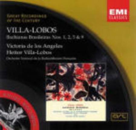 Bachianas Brasileras 1, 2, 5 & 9 [Audioregistrazione]