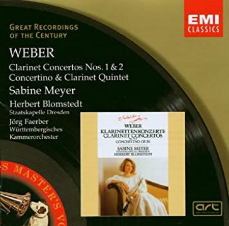 Clarinet Concertos, Concertino & Clarinet quintet [Audioregistrazione]
