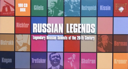 Russian legends [Audioregistrazione]