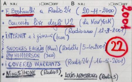 F. Bertinotti a Radio 24. U2 live