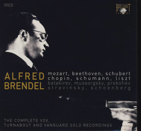 The Complete Vox, Turnabout and Vanguard Solo Recordings [Audioregistrazione] / Alfred Brendel. 5: Piano Sonata k310 [Audioregistrazione]