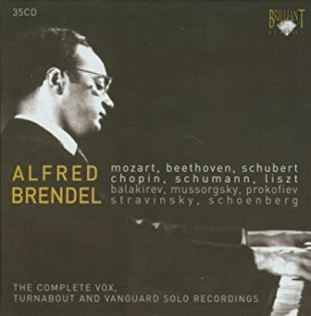 The Complete Vox, Turnabout and Vanguard Solo Recordings [Audioregistrazione] / Alfred Brendel. 19: Piano sonata no. 20 [Audioregistrazione]