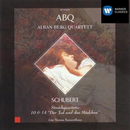 Streichquartette 10 & 14 [Audioregistrazione]