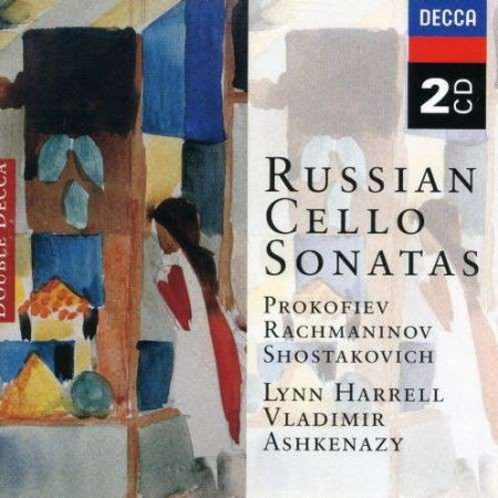 Russian cello sonatas [Audioregistrazione]