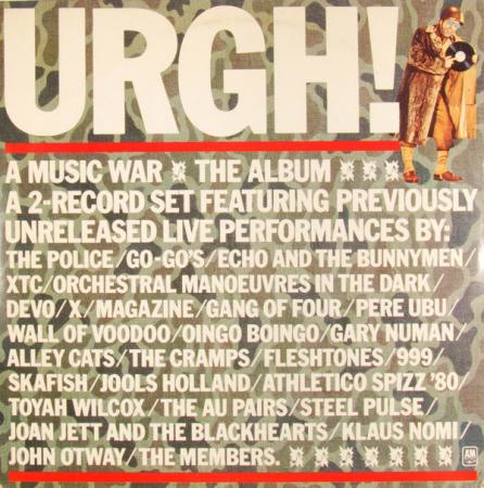 Urgh! A music war
