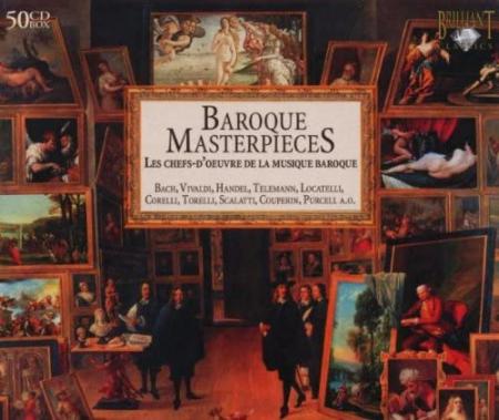Baroque masterpieces [Audioregistrazione] : les chefs-d'ouvre de la musique baroque / Bach ... [et al.]. 37: Six sonatas for violin and cello or harpsichord, opus 6 [Audioregistrazione]