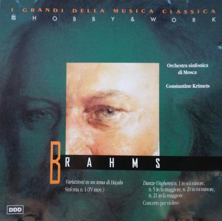 Brahms [Audioregistrazione]