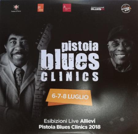 Pistoia Blues Clinics, 6-7-8 luglio