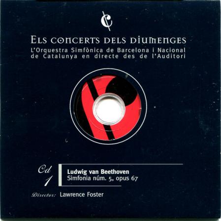 1: Simfonia núm. 5, opus 67 [Audioregistrazione]