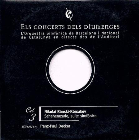 3: Scheherazade, suite simfònica [Audioregistrazione]