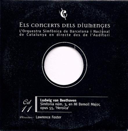 11: Simfonia núm. 3, en Mi Bemoll Major, opus 55, 'Heroica' [Audioregistrazione]