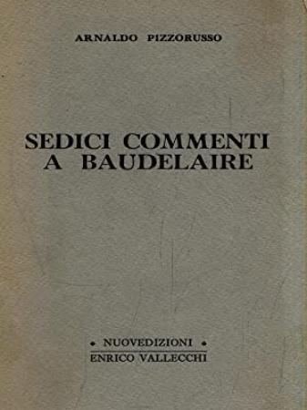 Sedici commenti a Baudelaire