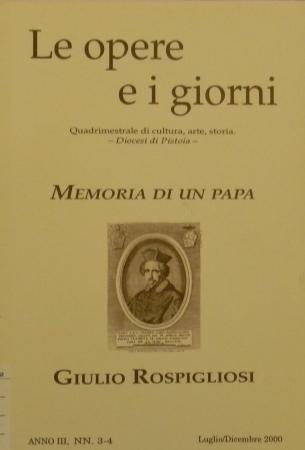 Memoria di un papa