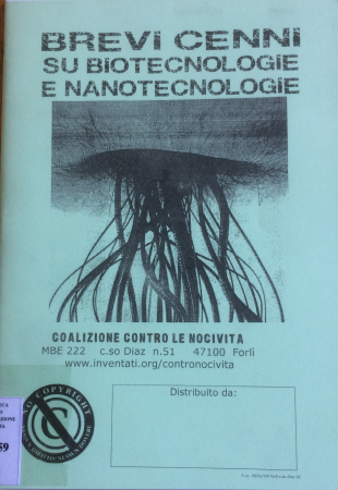 Brevi cenni su biotecnologie e nanotecnologie