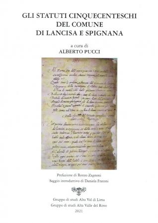 Gli statuti cinquecenteschi del Comune di Lancisa e Spignana