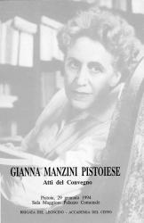 Gianna Manzini pistoiese