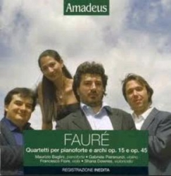 Quartetti per pianoforte e archi op. 15 e op. 45