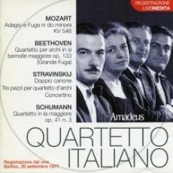 Mozart, Beethoven, Stravinskij, Schumann